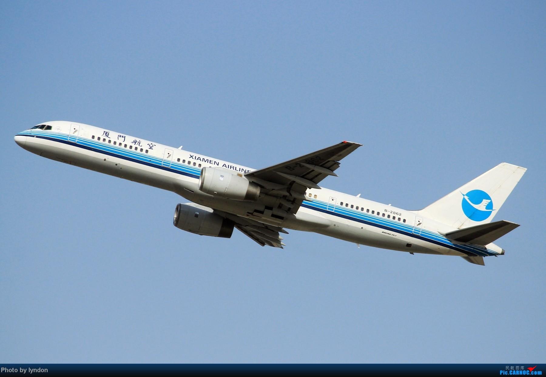Re:[原创]【HFE飞友】不多见的首都机场角度,无新机,无亮点,只有7P大图 BOEING 757-200 B-2862 中国北京首都机场