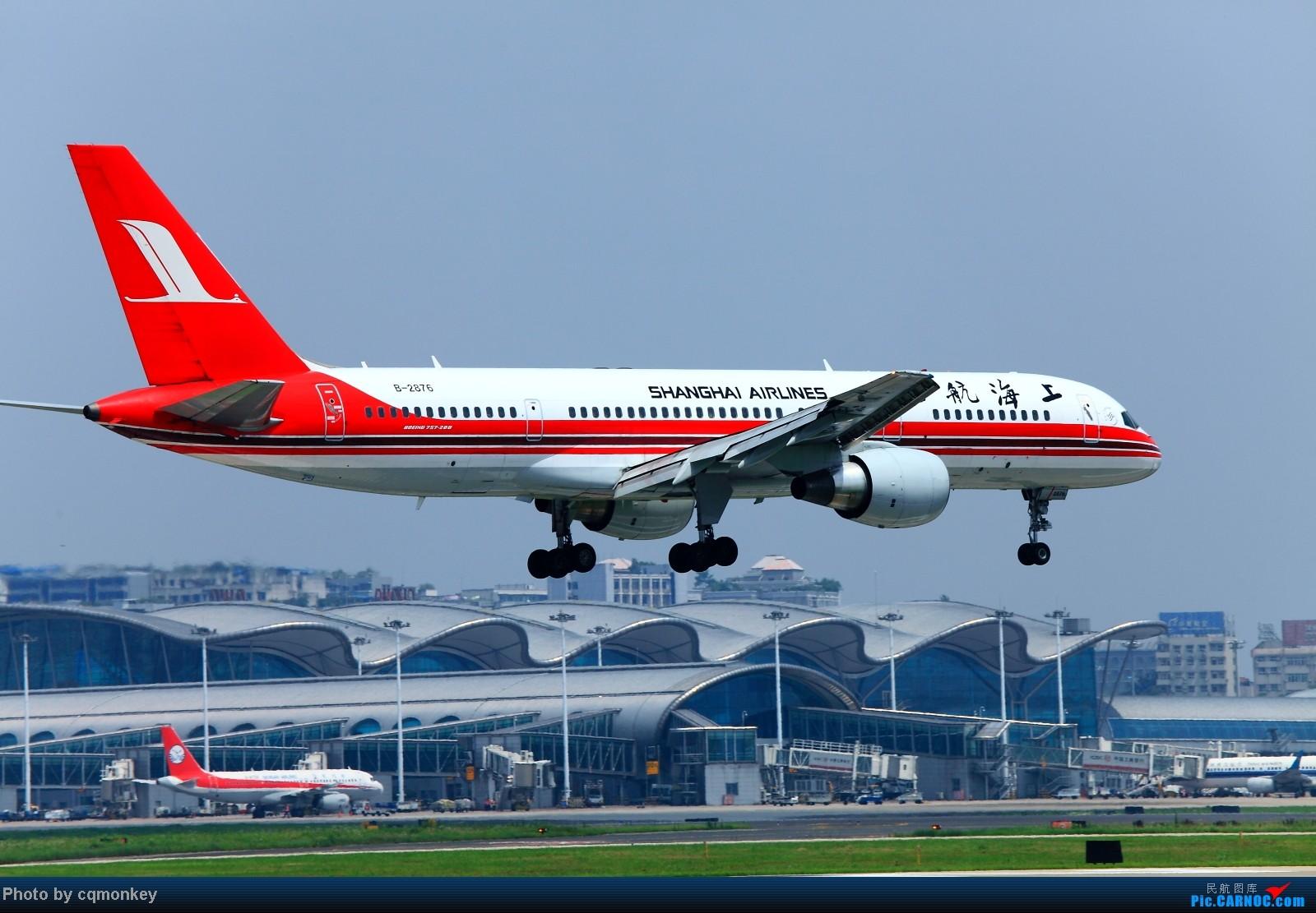 Re:[原创]20140705CKG杂图一组 BOEING 757-200 B-2876 中国重庆江北机场
