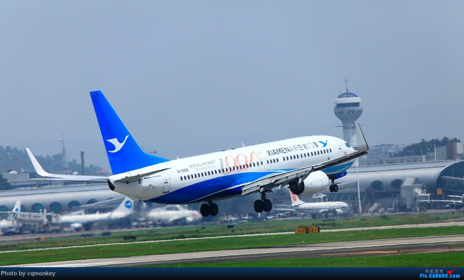 Re:[原创]20140705CKG杂图一组 BOEING 737-800 B-5688 中国重庆江北机场