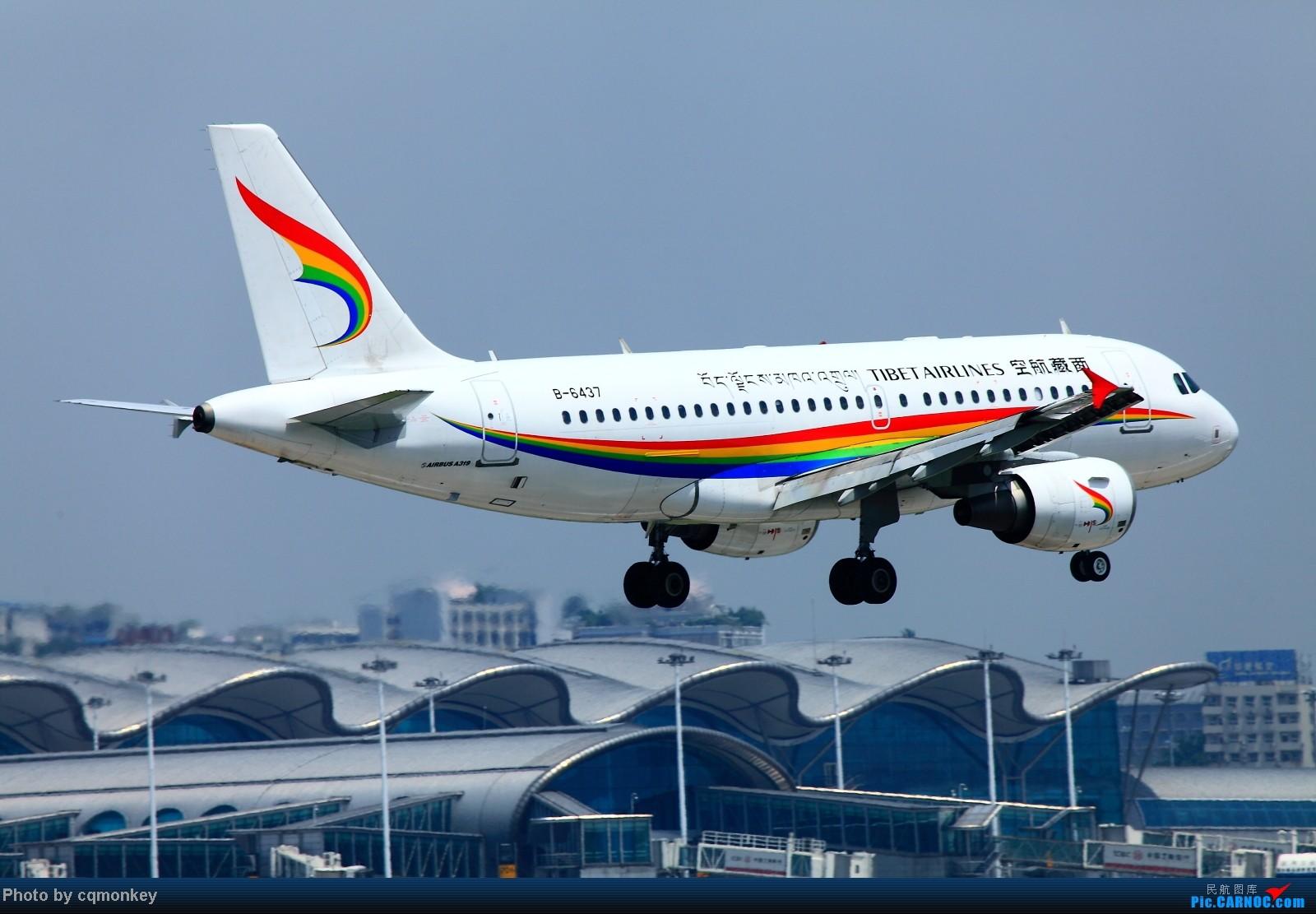 Re:[原创]20140705CKG杂图一组 AIRBUS A319-100 B-6437 中国重庆江北机场