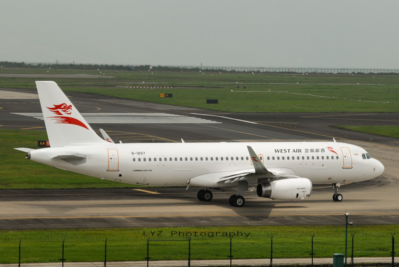 Re:[原创]【回归贴】——CKG平淡无奇的一天 AIRBUS A320-200 B-1897 中国重庆江北机场