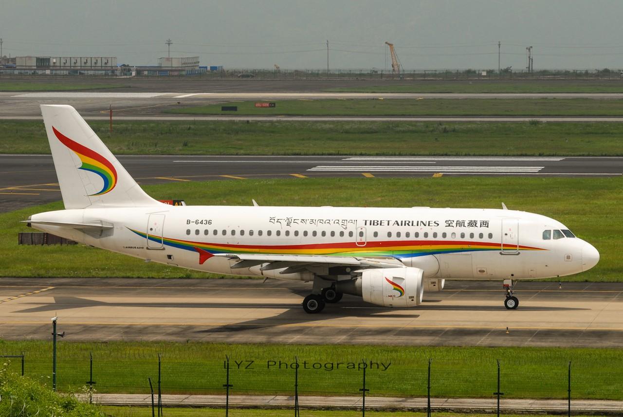 Re:[原创]【回归贴】——CKG平淡无奇的一天 AIRBUS A319-100 B-6436 中国重庆江北机场