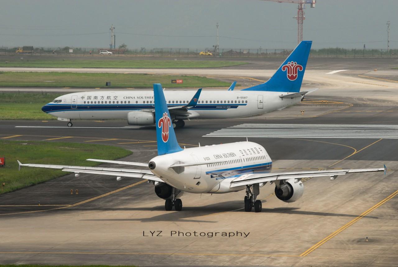 Re:[原创]【回归贴】——CKG平淡无奇的一天 AIRBUS A319-100 B-6209 中国重庆江北机场