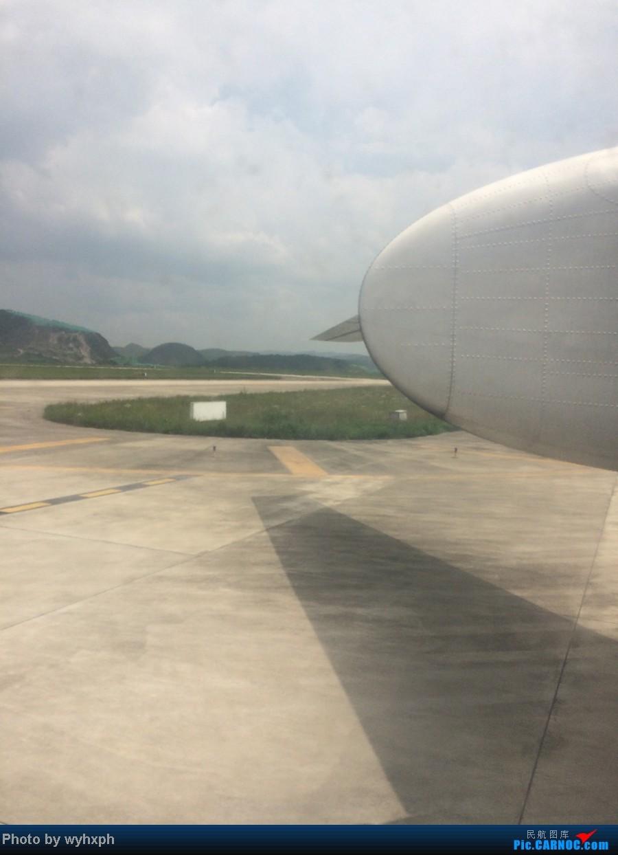 Re:[原创]世界自然遗产——荔波返程贵阳 XIFEI MA-60 B-3421 中国荔波机场