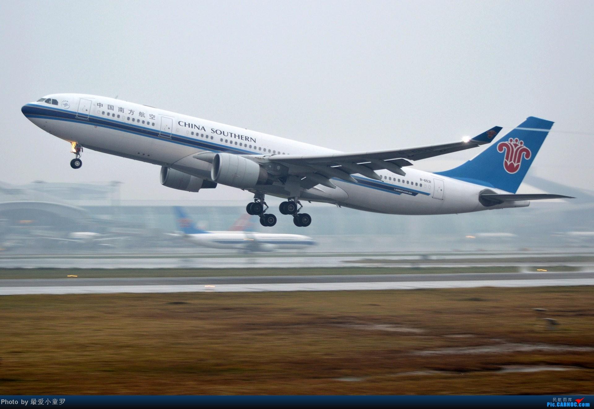 [原创]去年在CAN拍国航757退役时候的那个冷雨周末 AIRBUS A330-200 B-6531 中国广州白云机场