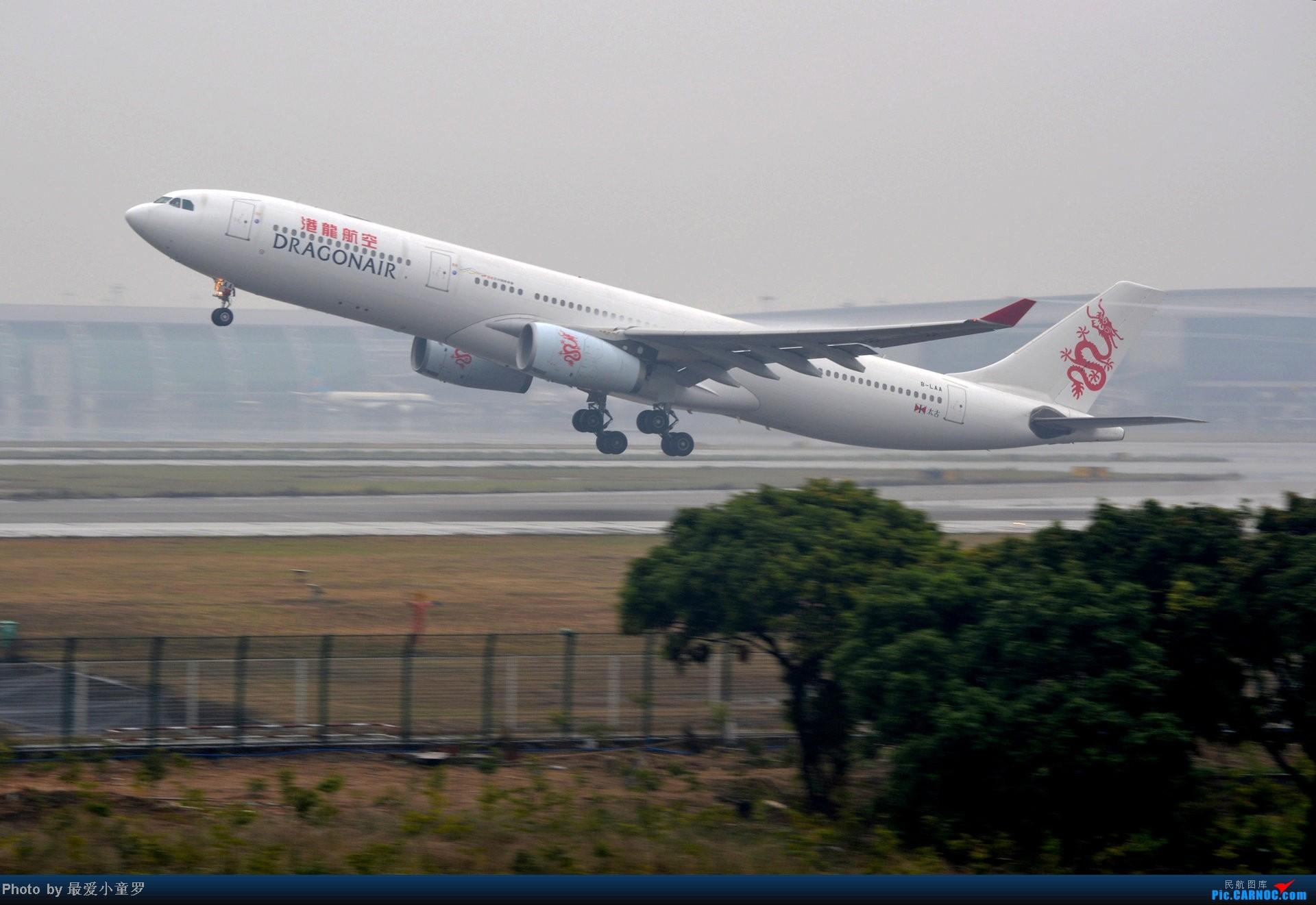 Re:[原创]去年在CAN拍国航757退役时候的那个冷雨周末 AIRBUS A330-300 B-LAA 中国广州白云机场