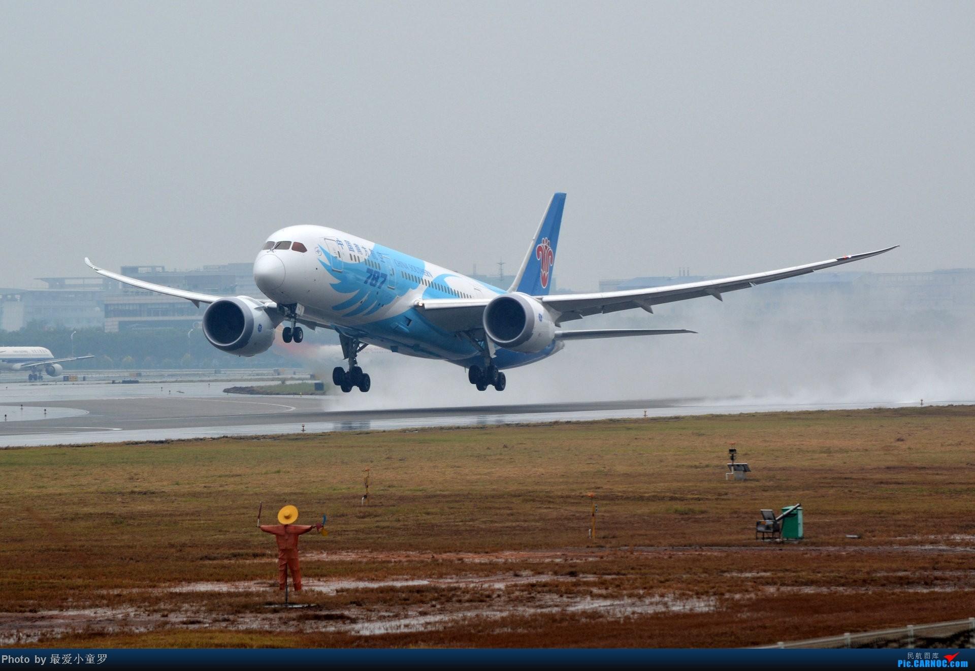 Re:[原创]去年在CAN拍国航757退役时候的那个冷雨周末 BOEING 787-8 B-2733 中国广州白云机场