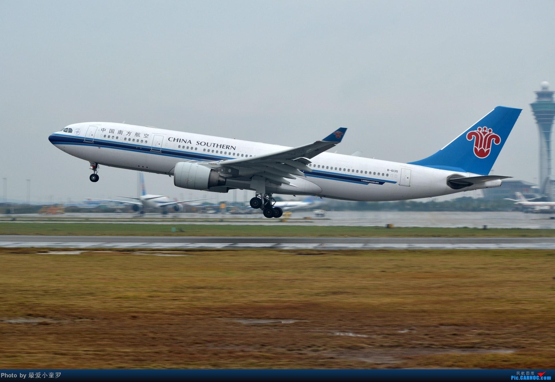 Re:[原创]去年在CAN拍国航757退役时候的那个冷雨周末 AIRBUS A330-200 B-6135 中国广州白云机场