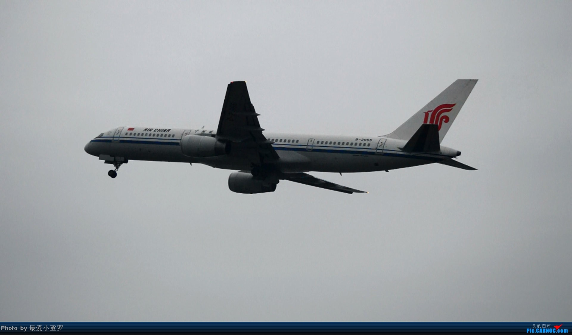 Re:[原创]去年在CAN拍国航757退役时候的那个冷雨周末 BOEING 757-200 B-2855 中国广州白云机场