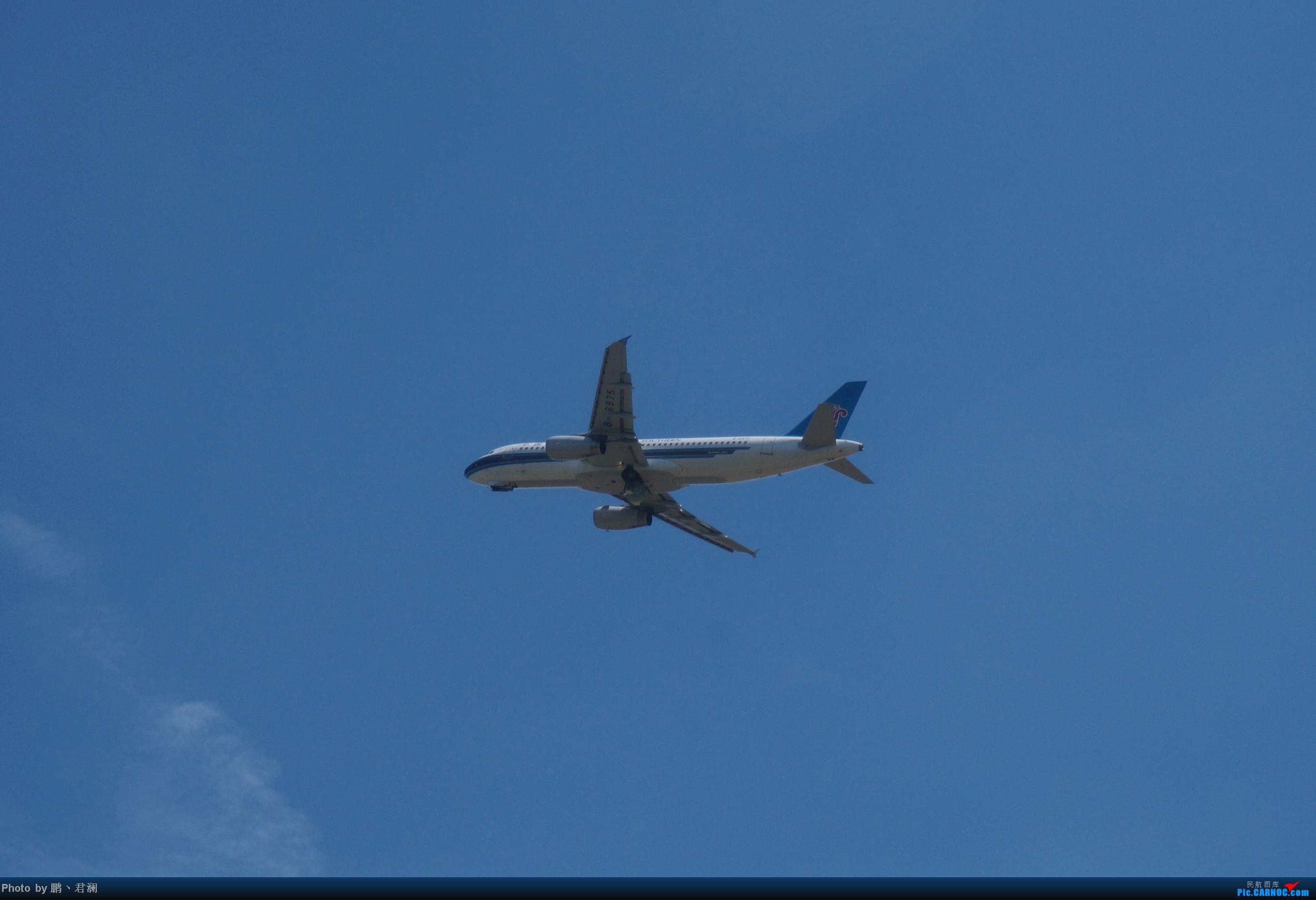 Re:[原创]【海南飞友会】海口炎炎烈日拍机进行时 蓝天+CB+....小微单 AIRBUS A320-200 B-6975 中国海口美兰机场