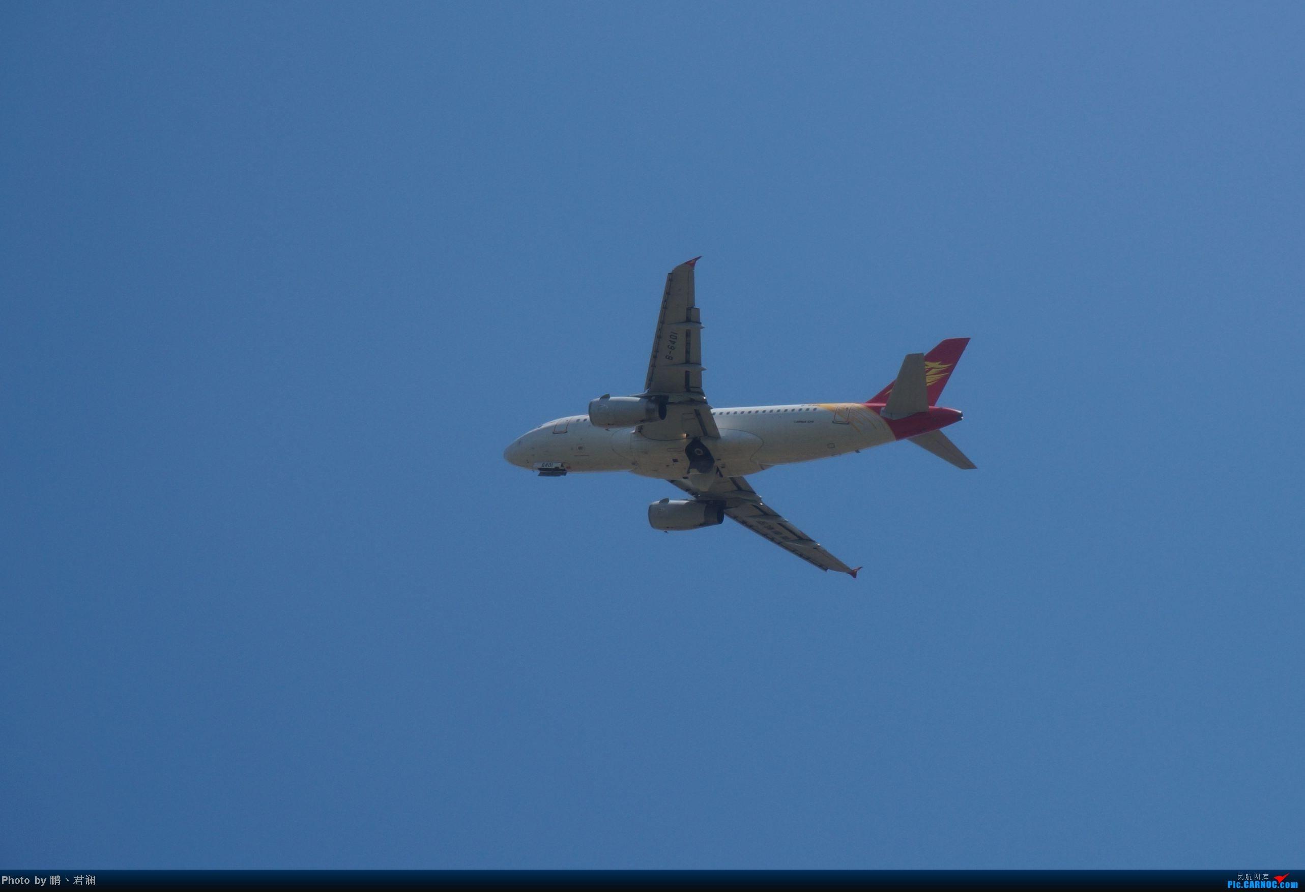 Re:[原创]【海南飞友会】海口炎炎烈日拍机进行时 蓝天+CB+....小微单 AIRBUS A319 B-6401 中国海口美兰机场