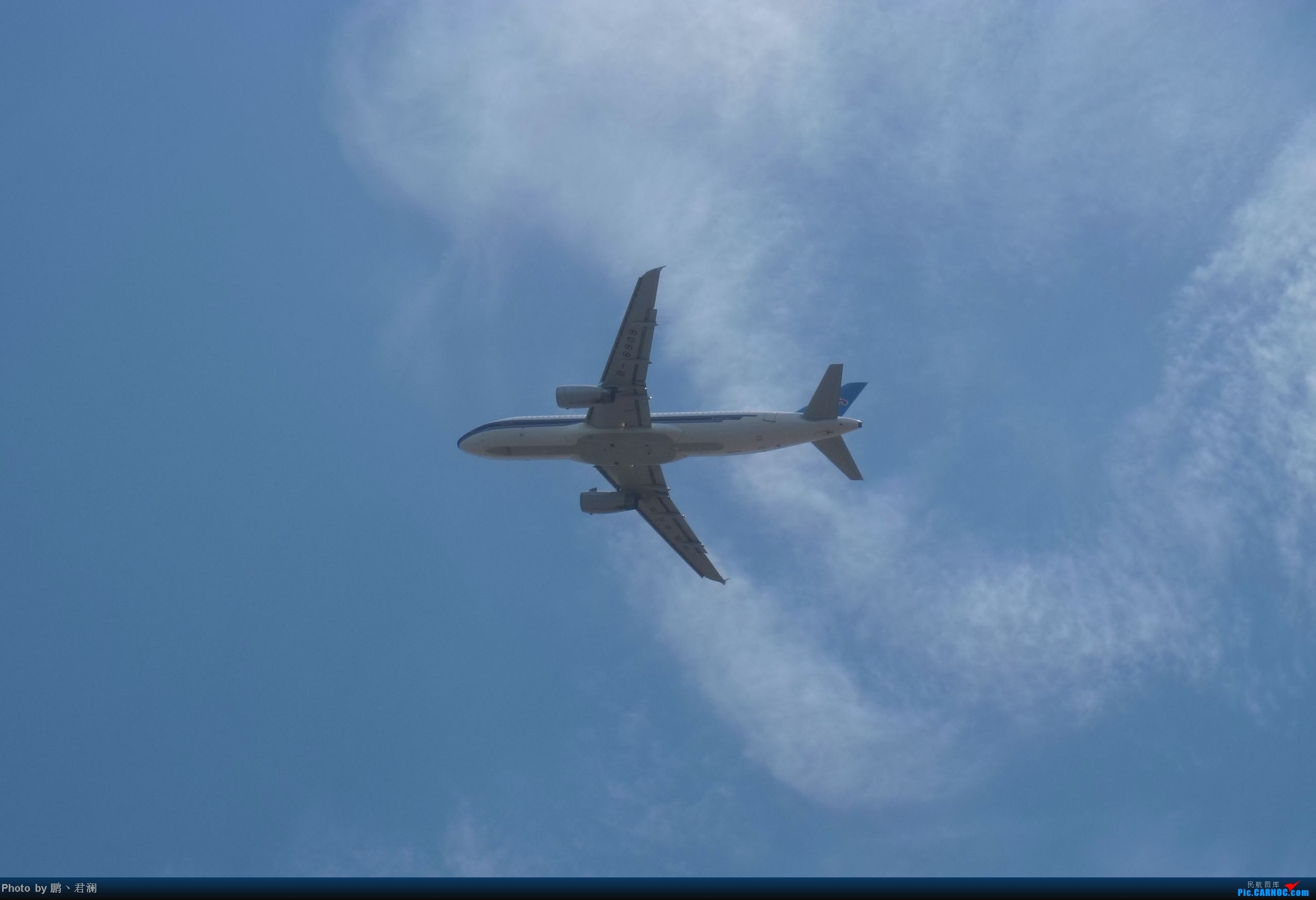 Re:[原创]【海南飞友会】海口炎炎烈日拍机进行时 蓝天+CB+....小微单 AIRBUS A320-200 B-6909 中国海口美兰机场