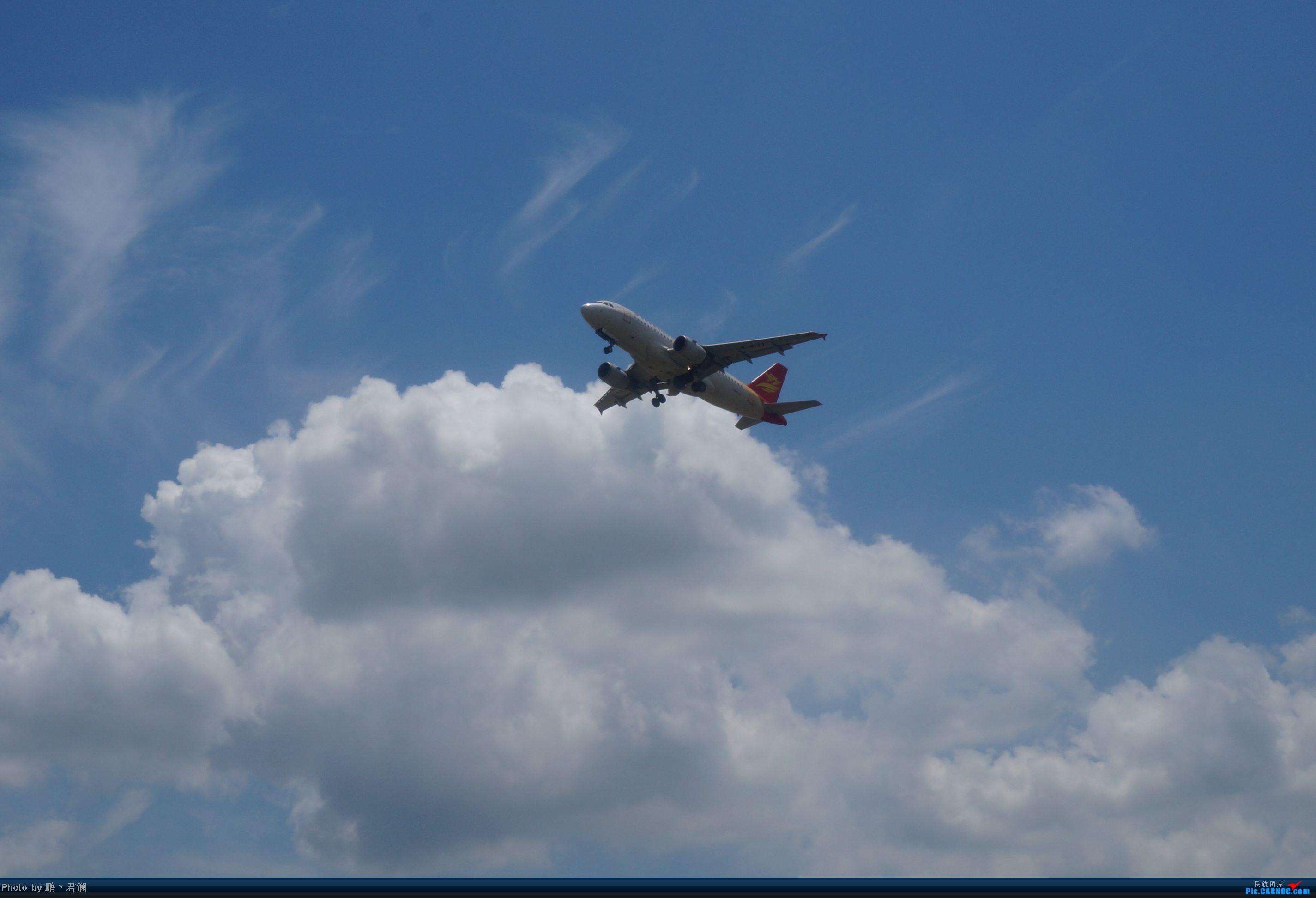 Re:[原创]【海南飞友会】海口炎炎烈日拍机进行时 蓝天+CB+....小微单 AIRBUS A319-100 B-6177 中国海口美兰机场
