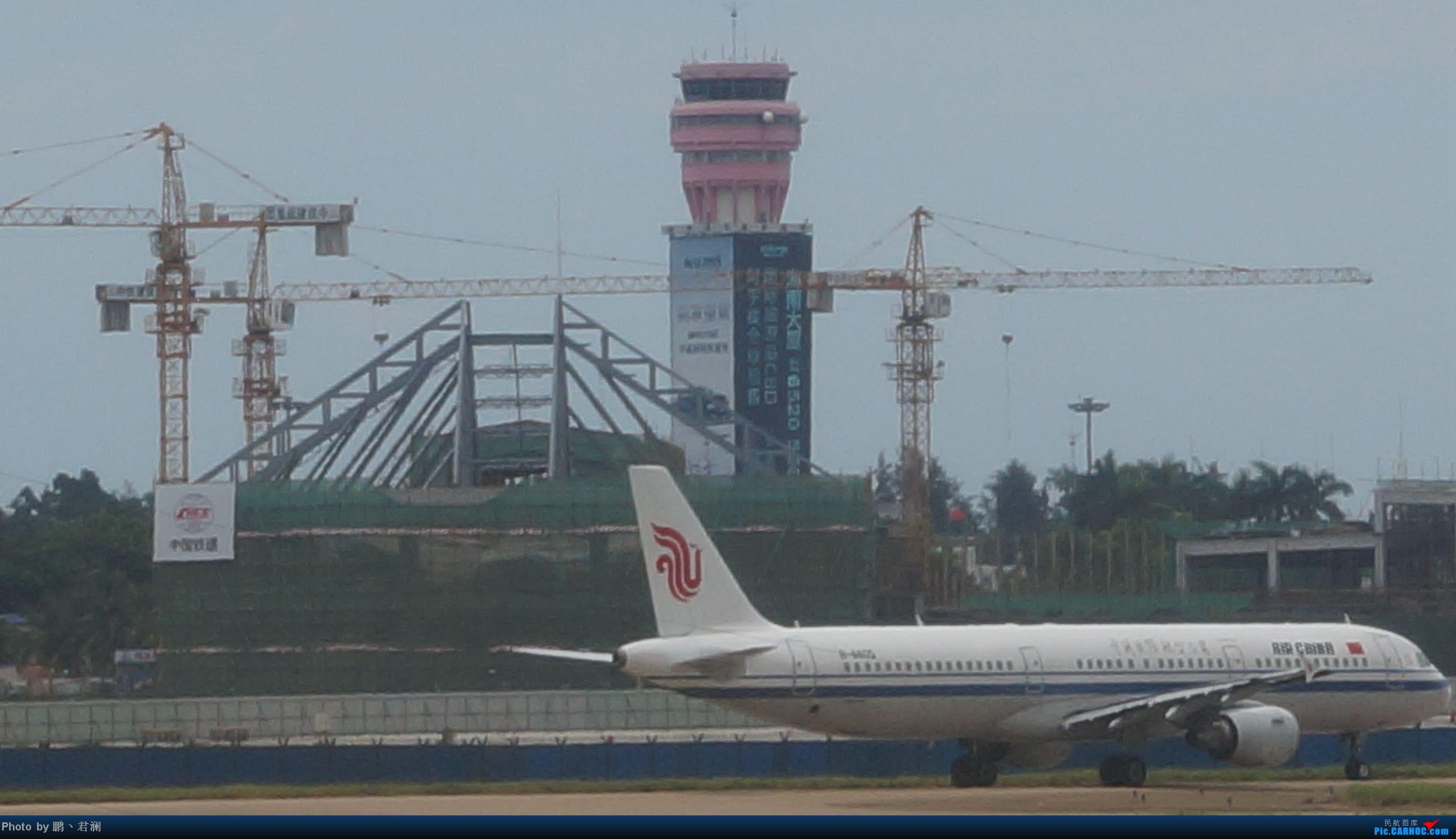 Re:[原创]【海南飞友会】海口炎炎烈日拍机进行时 蓝天+CB+....小微单 AIRBUS A321-200 B-6605 中国海口美兰机场