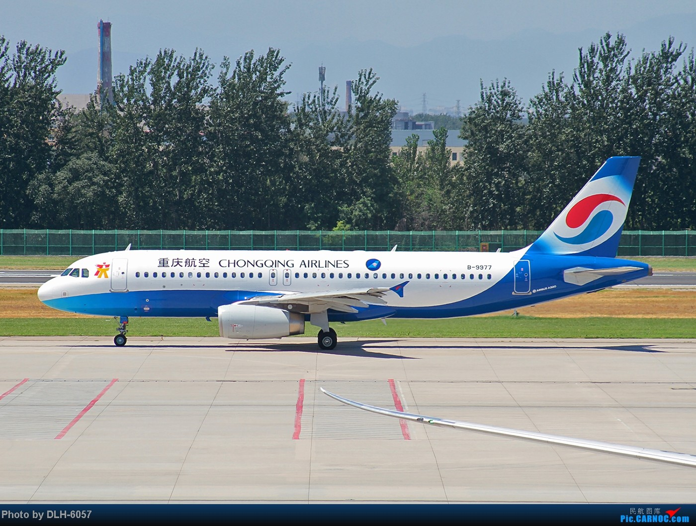 """Re:[原创]烈日炎炎之下 飞友拍机不""""怕""""累T- T AIRBUS A320-200 B-9977 中国北京首都机场"""
