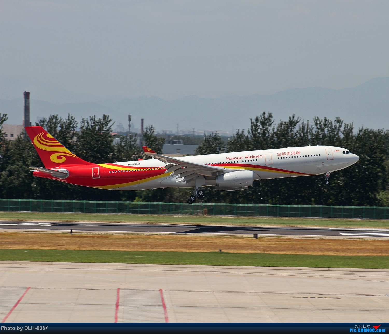 """Re:[原创]烈日炎炎之下 飞友拍机不""""怕""""累T- T AIRBUS A330-300 B-5950 中国北京首都机场"""