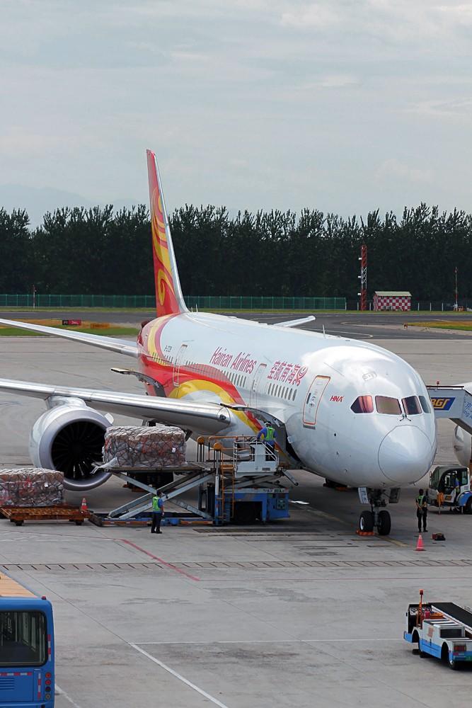 """Re:[原创]烈日炎炎之下 飞友拍机不""""怕""""累T- T BOEING 787-8 B-2729 中国北京首都机场"""