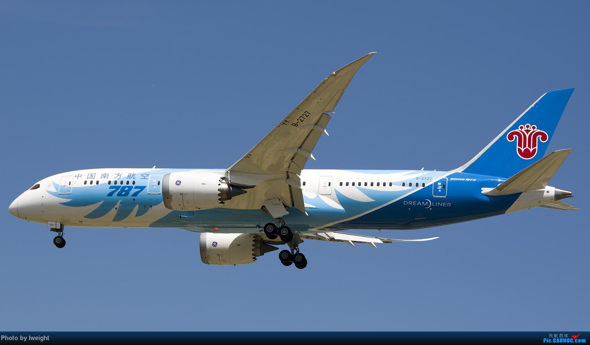 Re:[原创]7月13日下午随手拍机 BOEING 787-8 B-2727 中国北京首都机场