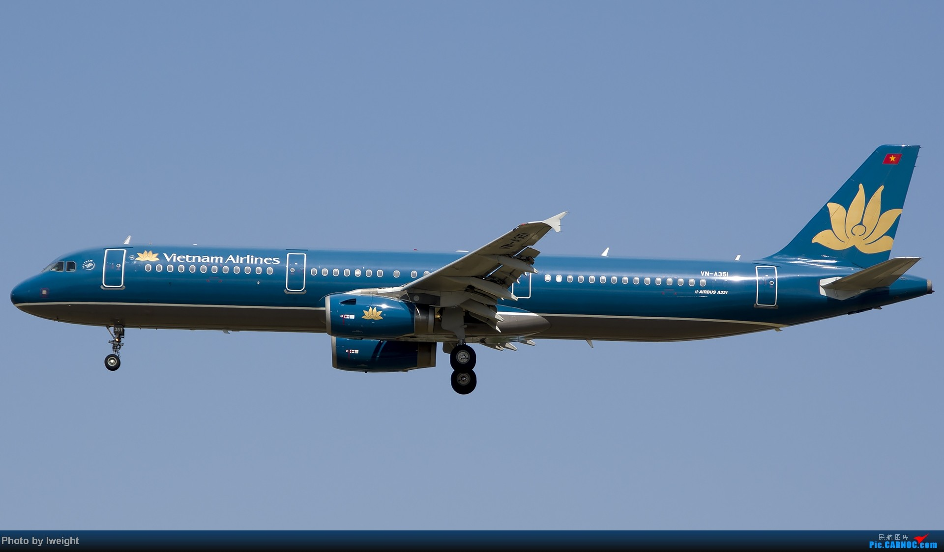 Re:[原创]7月13日下午随手拍机 AIRBUS A321-200 VN-A351 中国北京首都机场