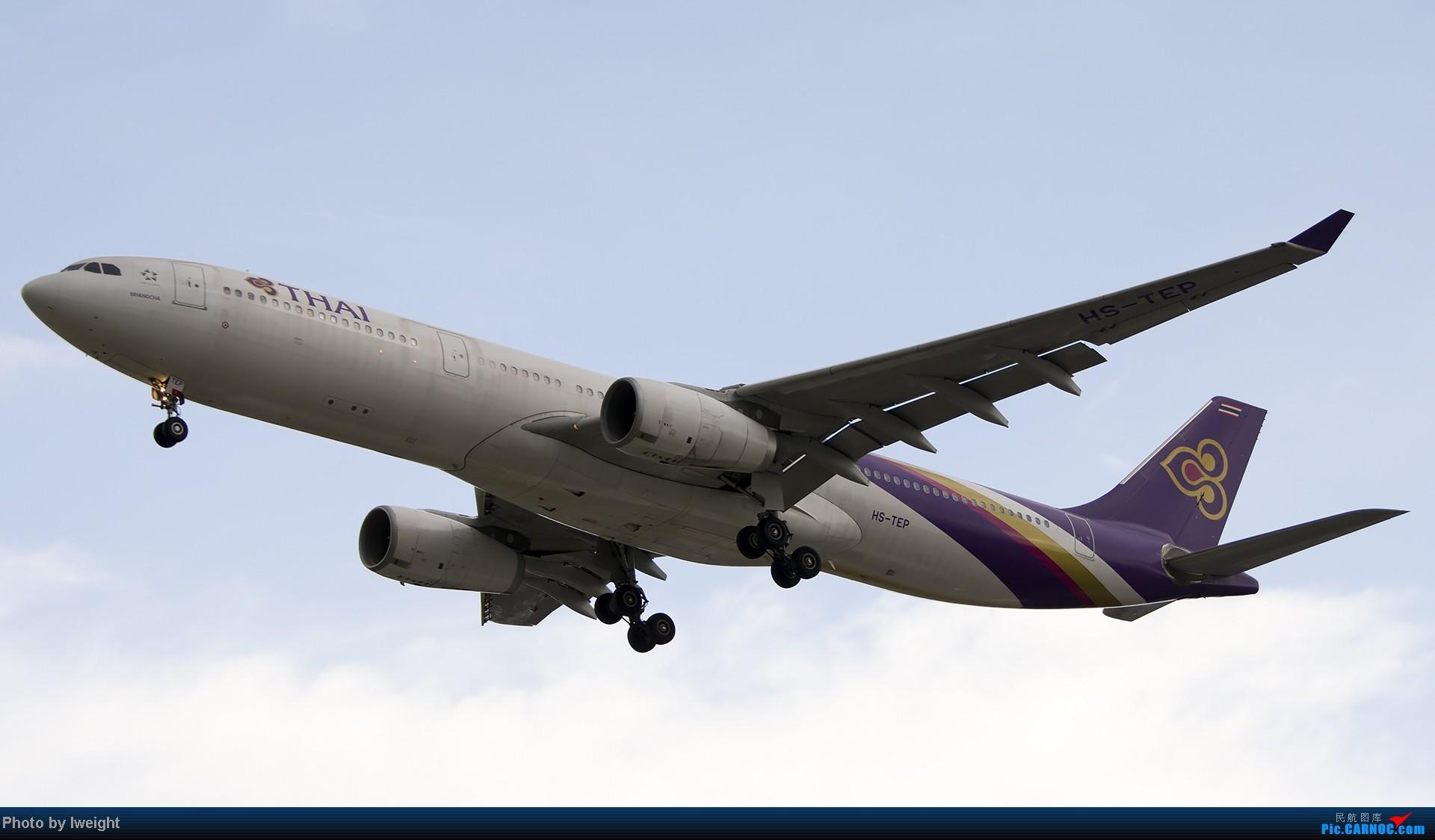 Re:[原创]7月13日下午随手拍机 AIRBUS A330-300 HS-TEP 中国北京首都机场