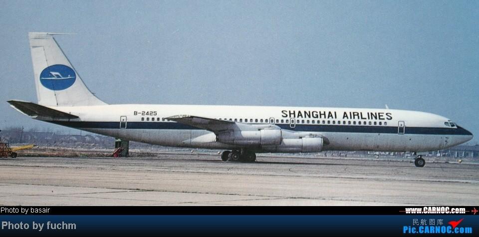 Re:远逝的飞鹤--记上航波音707五小鹭最后的归宿(B2422-2426) BOEING 707 B-2425