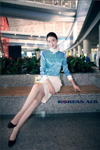 美女空姐制服第二季 T3 大韩航空图片