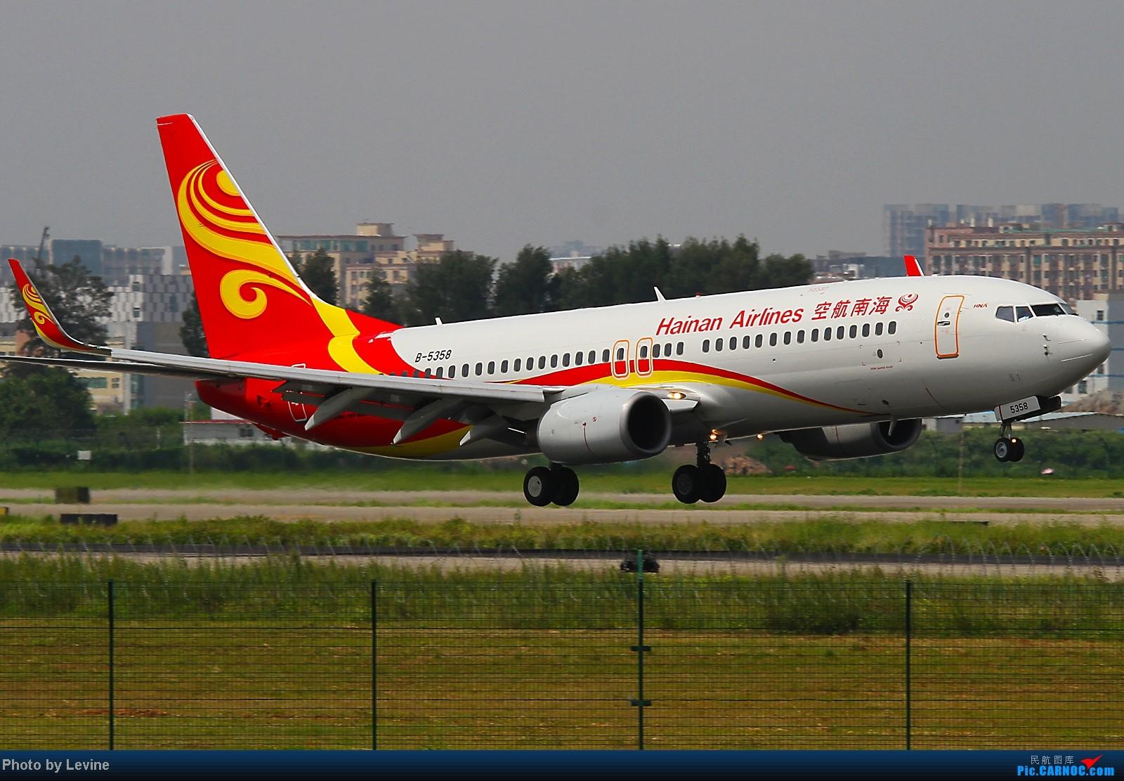 Re:[转贴][深圳飞友会]夏天第一拍 小试牛刀 BOEING 737-800 B-5358 中国深圳宝安机场