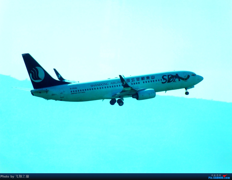 Re:[原创]CKG拍机(天翼亚洲航空320,斯里兰卡320,火红吉祥321,南航333) BOEING 737-800 B-5592 重庆江北国际机场