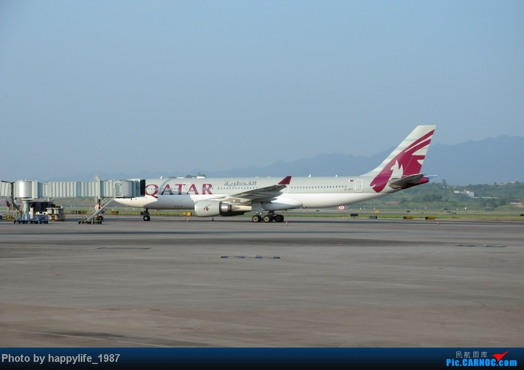 Re:[原创]CKG——JIQ(黔江),华夏CRJ200小铅笔往返 AIRBUS A330 A7-AFP 中国重庆江北机场