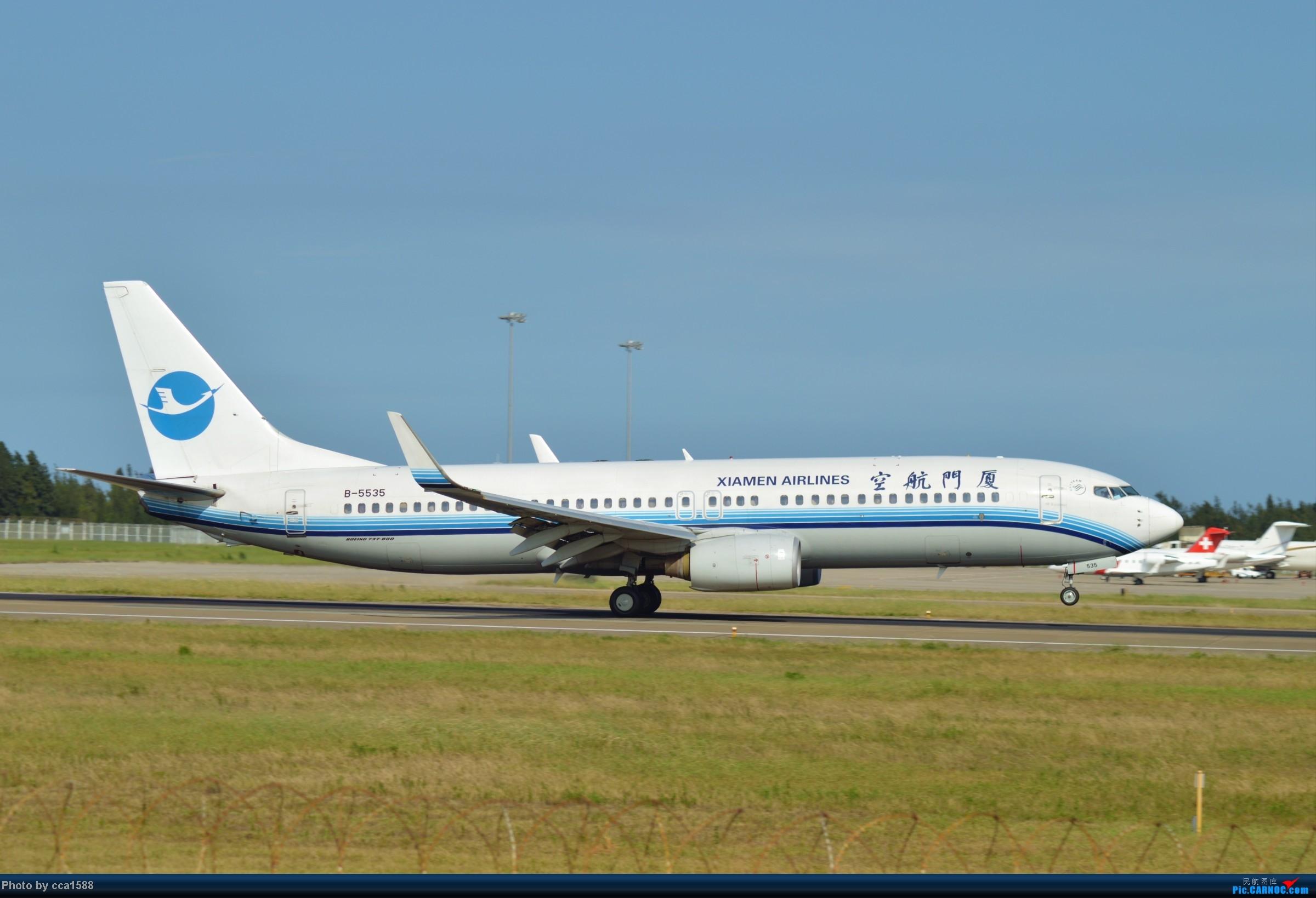Re:[原创]7.25--FOC拍机集锦~(复兴、新舟60、还有更多惊喜~!) BOEING 737-800 B-5535 中国福州长乐机场