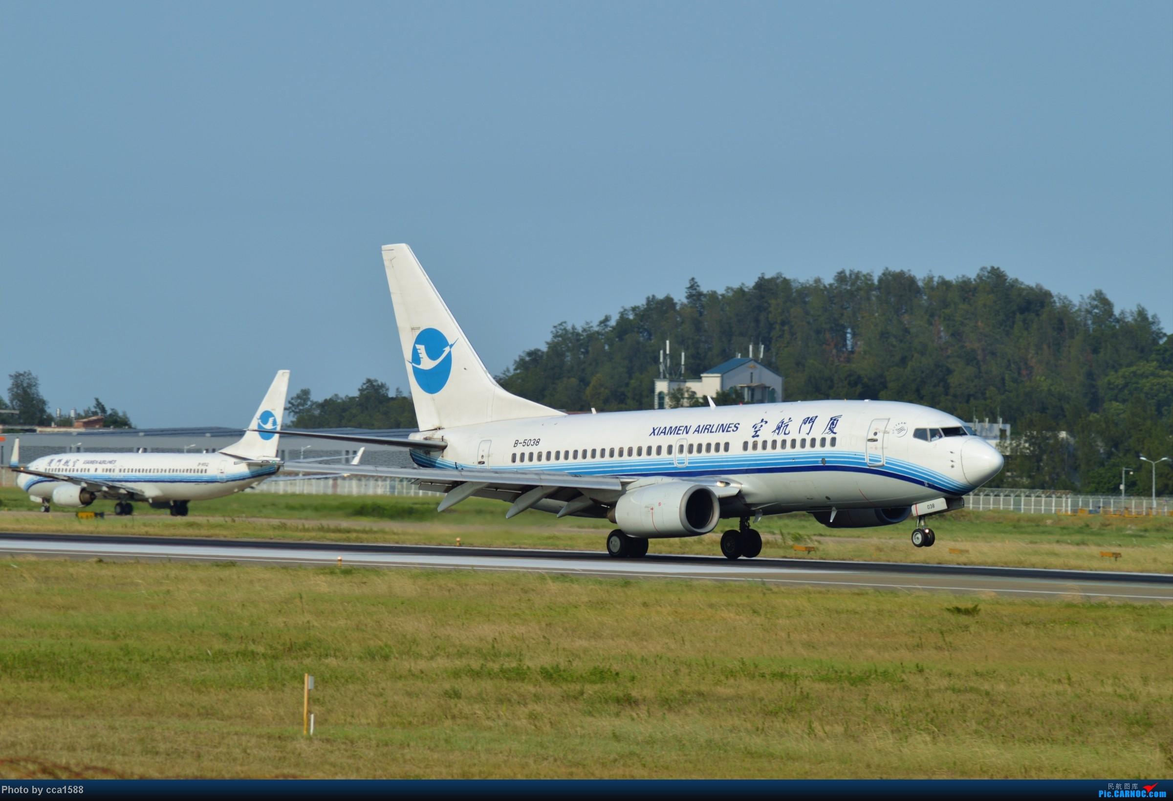 Re:[原创]7.25--FOC拍机集锦~(复兴、新舟60、还有更多惊喜~!) BOEING 737-700 B-5038 中国福州长乐机场