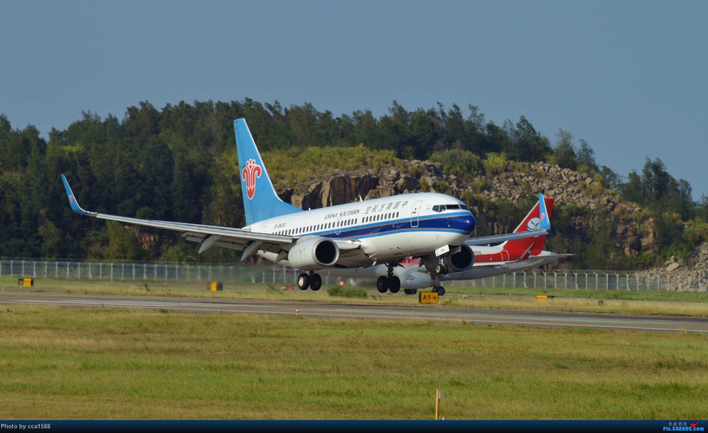 Re:[原创]7.25--FOC拍机集锦~(复兴、新舟60、还有更多惊喜~!) BOEING 737-700 B-2620 中国福州长乐机场