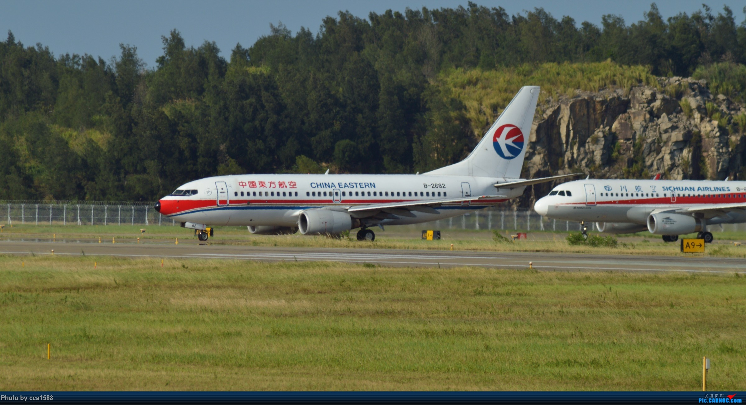 Re:[原创]7.25--FOC拍机集锦~(复兴、新舟60、还有更多惊喜~!) BOEING 737-700 B-2682 中国福州长乐机场