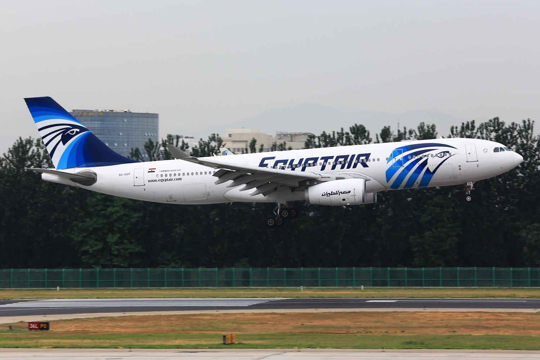 [原创]【PEK】**********帝都36L落地一组:埃及332,埃塞俄比亚77L,伊朗747SP,南非346********** AIRBUS A330-200 SU-GCF 中国北京首都机场