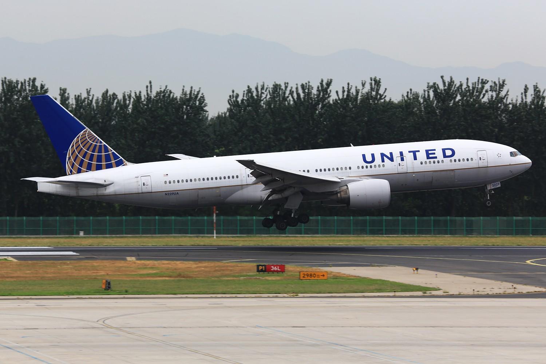 Re:[原创]【PEK】**********帝都36L落地一组:埃及332,埃塞俄比亚77L,伊朗747SP,南非346********** BOEING 777-200 N229UA 中国北京首都机场