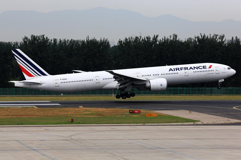 Re:[原创]【PEK】**********帝都36L落地一组:埃及332,埃塞俄比亚77L,伊朗747SP,南非346********** BOEING 777-300 F-GSQC 中国北京首都机场