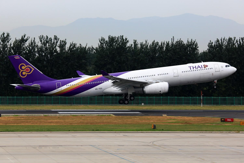 Re:[原创]【PEK】**********帝都36L落地一组:埃及332,埃塞俄比亚77L,伊朗747SP,南非346********** AIRBUS A330-300 HS-TES 中国北京首都机场