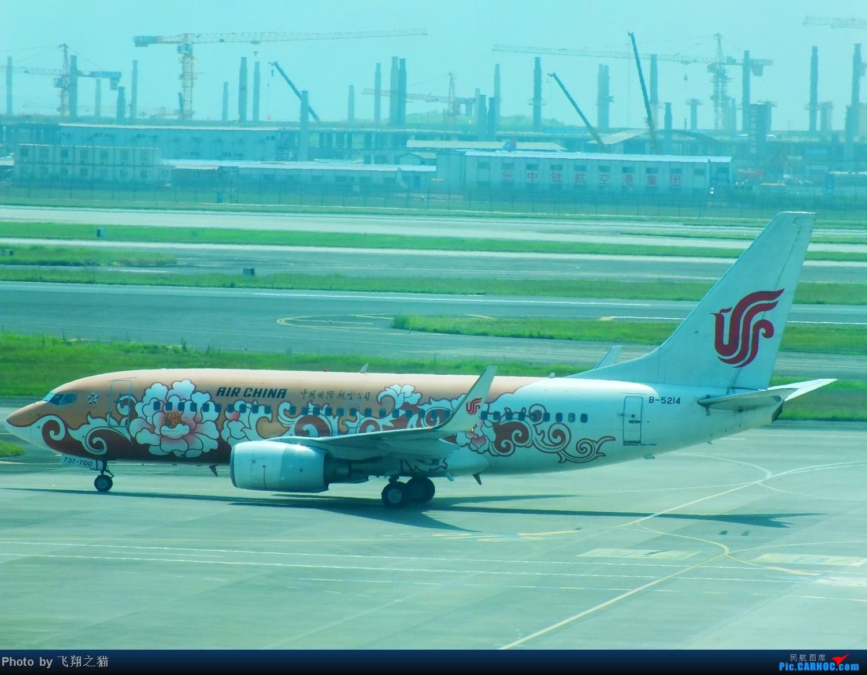 Re:[原创]CKG夏日拍机(国航新机1959.少见的天翼亚洲航空320.泰东734) BOEING 737-700 B-5214 重庆江北国际机场