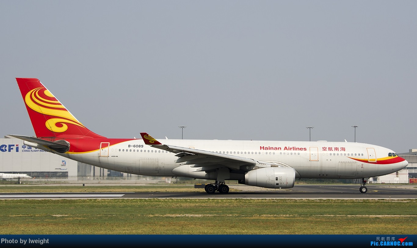 Re:[原创]给力的南风,恼人的雾霾,首都机场7.27 AIRBUS A330-200 B-6089 中国北京首都机场