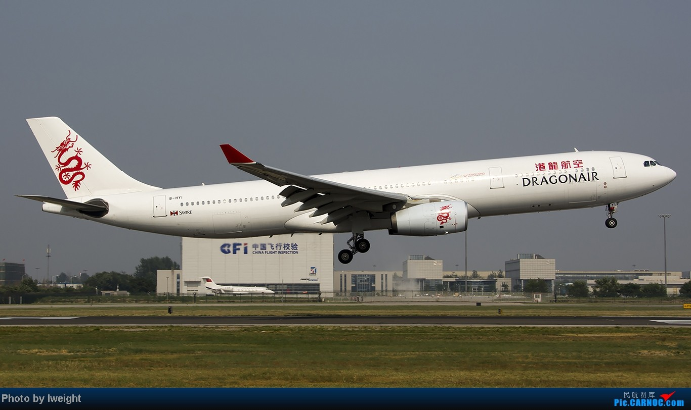 Re:[原创]给力的南风,恼人的雾霾,首都机场7.27 AIRBUS A330-300 B-HYI 中国北京首都机场