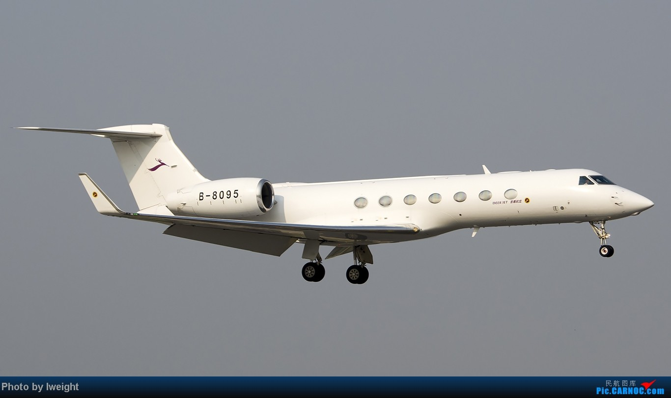 Re:[原创]给力的南风,恼人的雾霾,首都机场7.27 GULFSTREAM G550 B-8095 中国北京首都机场