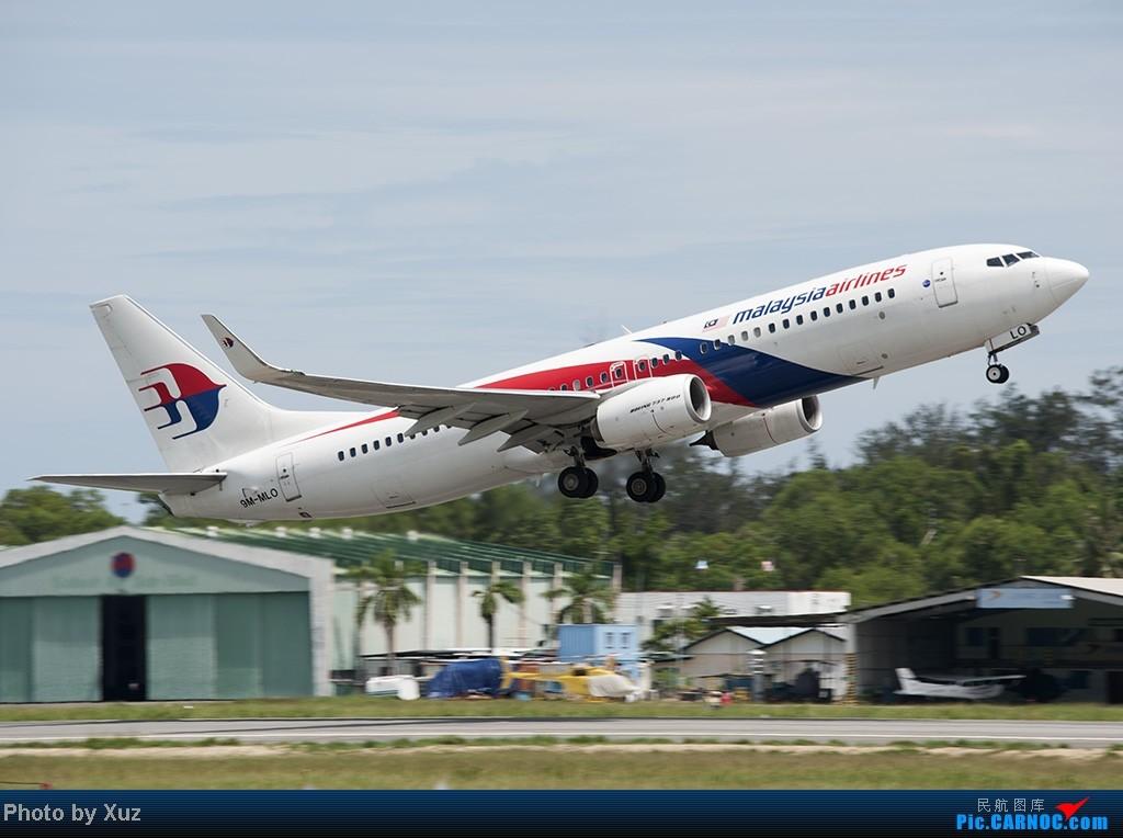 Re:[原创]沙巴行-拍机 BOEING 737-800 9M-MLO 马来西亚沙巴机场