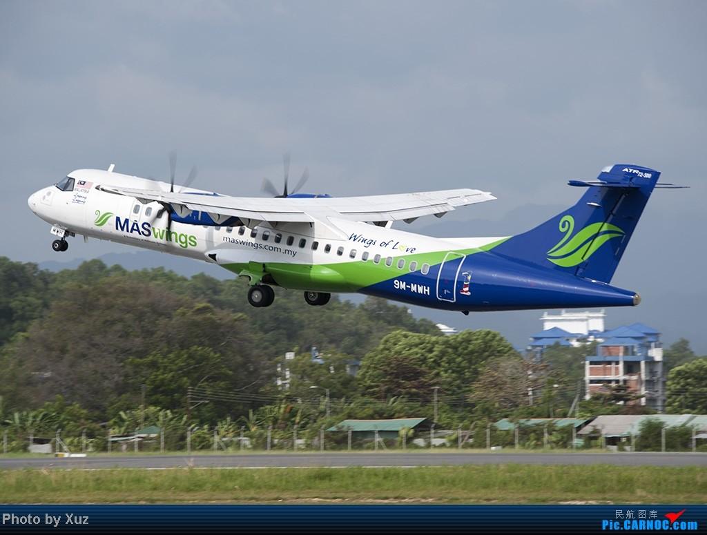 Re:[原创]沙巴行-拍机 ATR-72 9M-MWH 马来西亚沙巴机场