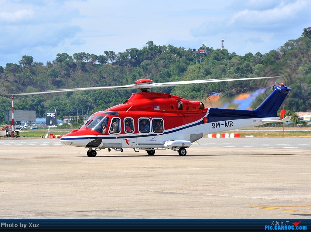 Re:[原创]沙巴行-拍机 AW-139 9M-AIR