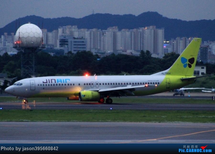 Re:[原创]韩亚带我xx带我飞><  首尔仁川济州西归浦9天全美食体验 BOEING 737-800 HL7564 韩国首尔金浦国际机场