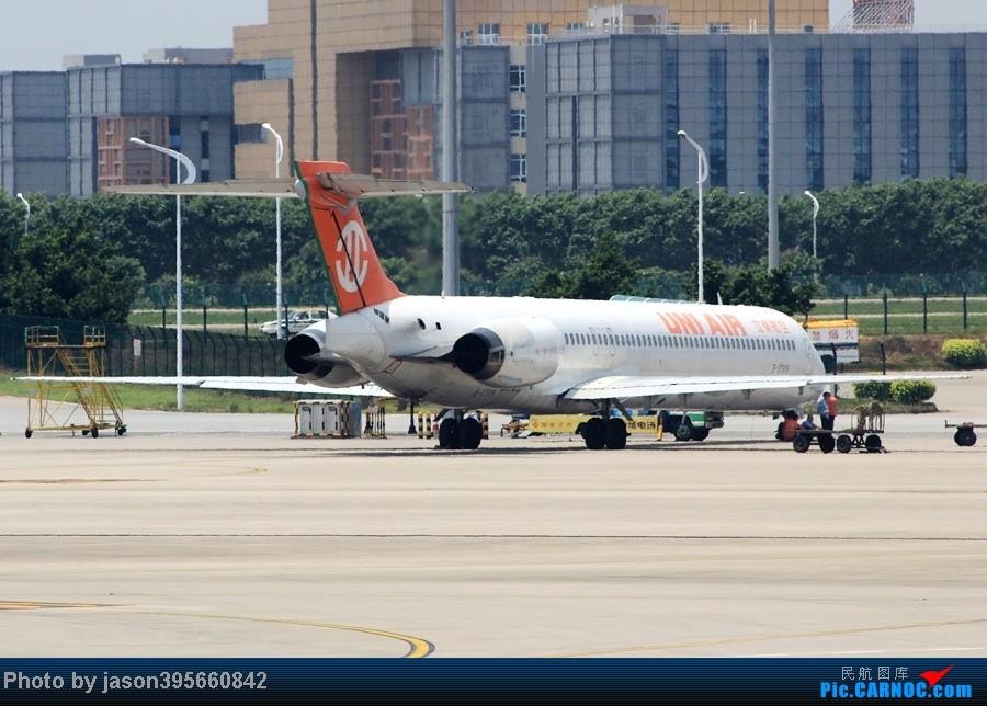 Re:韩亚带我xx带我飞><  首尔仁川济州西归浦9天全美食体验 MD-90-30 B-17919 中国广州白云机场