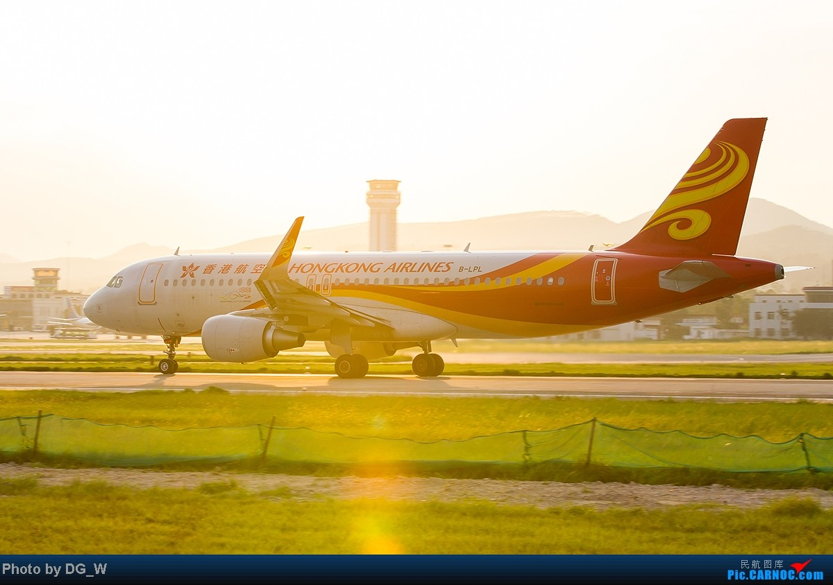 Re:[原创]【南宁飞友】NNG的晚霞 AIRBUS A320-200 B-LPL 中国南宁吴圩机场