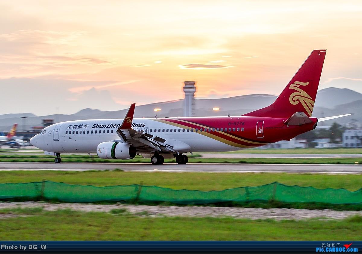Re:[原创]【南宁飞友】NNG的晚霞 BOEING 737-800 B-5776 中国南宁吴圩机场