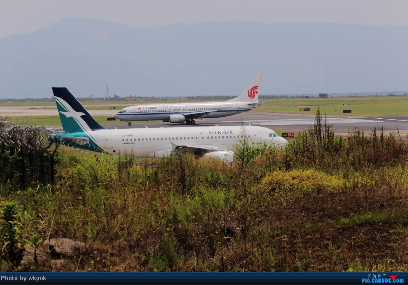 [原创]CKG拍东海公务 AIRBUS A320 9V-SBG 中国重庆江北机场