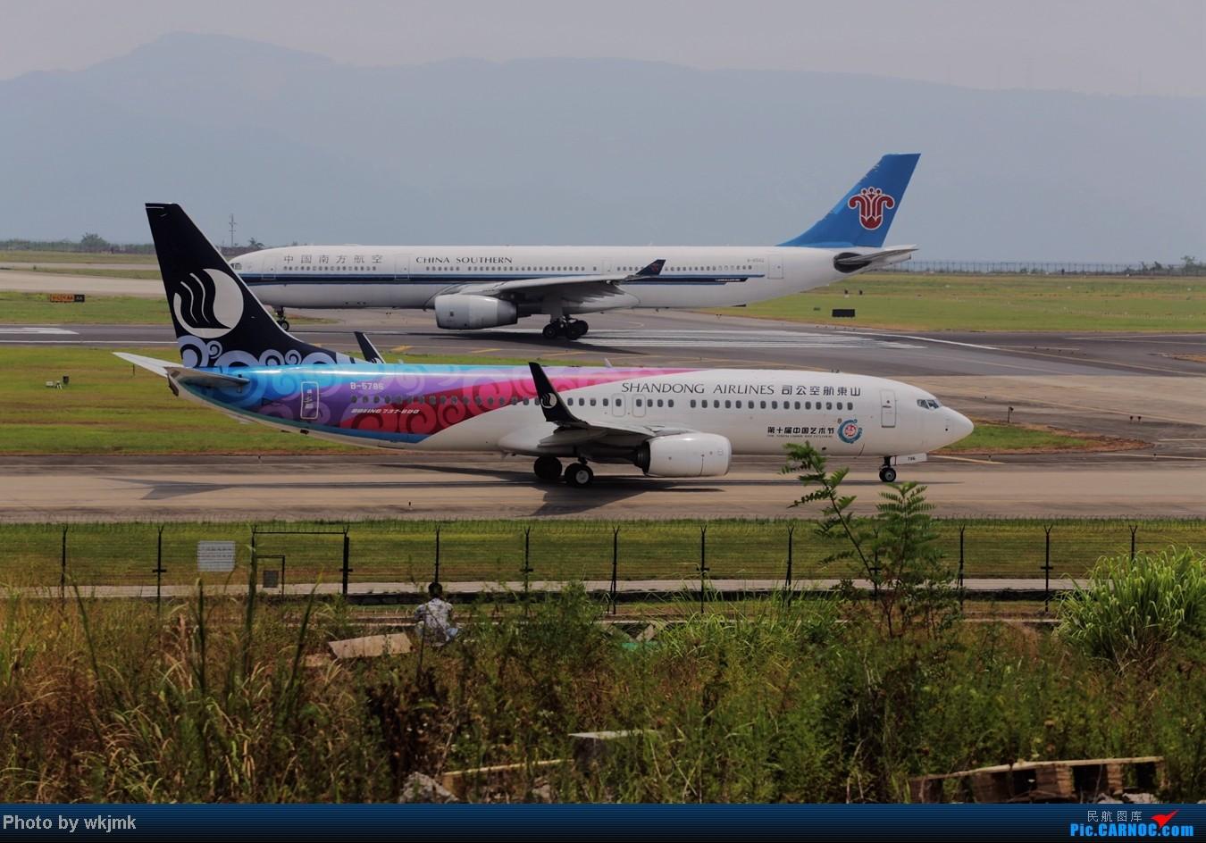 Re:[原创]CKG拍东海公务 BOEING 737-800 B-5786 中国重庆江北机场
